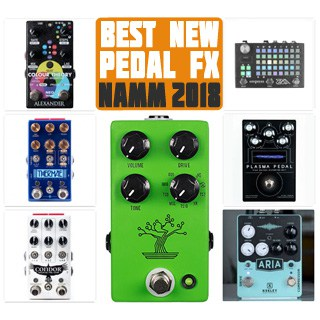 The Best (of the Best) New Guitar Pedals at NAMM 2018: #1. JHS Pedals Bonsai