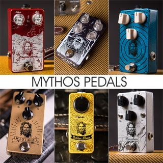 The Andertons interview Mythos Pedals at our NAMM Stompbox Booth