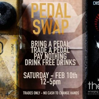 Pedal Swap at Main Drag Music on February 10th!