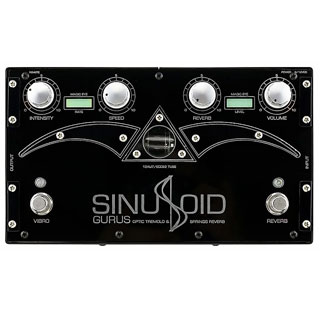 Gurus Sinusoid Tube Driven Analog Reverb & Vibrato