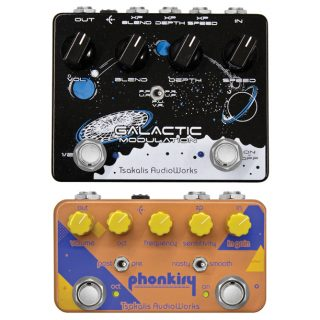 Tsakalis Introduces the Galactic Multimodulation and Phonkify Filter Wah Pedals