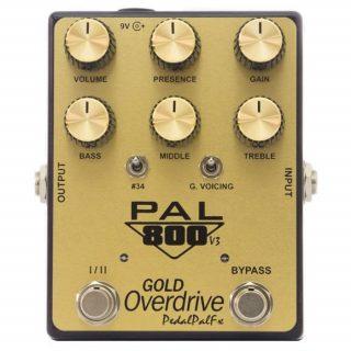 PedalPalFX PAL 800 Gold Overdrive V3