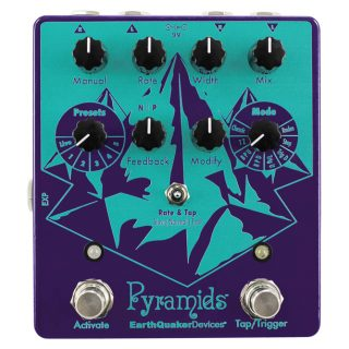 Q&A with EarthQuaker Devices about the Pyramids Stereo Flanger