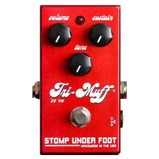 Stomp Under Foot recreates the '72 Tri Muff v6 Fuzz