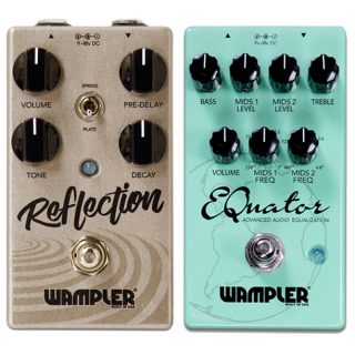 Wampler Releases Reflection Reverb and EQuator EQ Pedals