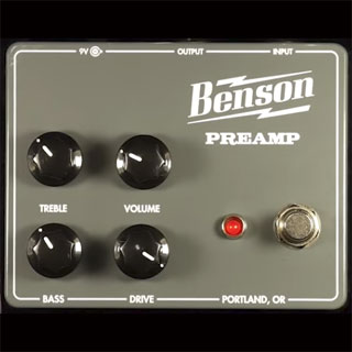Benson Amps Preamp Overdrive/Distortion