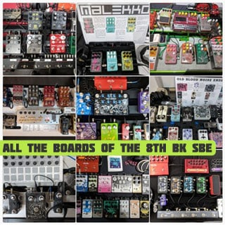 All the Boards of the 8th Brooklyn Stompbox Exhibit (2018 Edition)