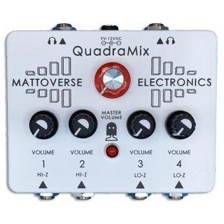 Mattoverse Electronics Presents the QuadraMix Compact Mixer