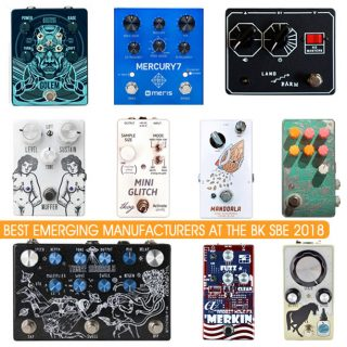 BK Stompbox Exhibit 2018 – Best Emerging Manufacturer Contest Results