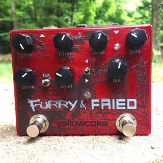 Yellowcake Pedals Furry & Fried