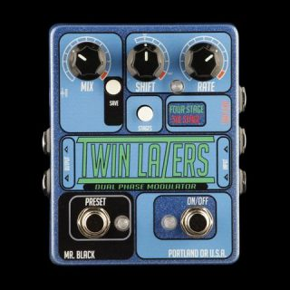 Mr. Black Twin-Lazers True Stereo Phase Shifter & Modulator