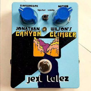 Jext Telez Canyon Climber Fuzz gets Premier Guitar Award