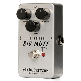 Electro-Harmonix celebrates 50 years of Muff with the Triangle Big Muff