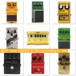 Best Overdrive Pedals under $100