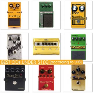 The 10 Best Budget Overdrive Pedals (under $100), according to Mr. JHS (New & Used)