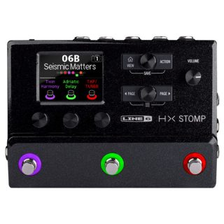 Line 6 HX Stomp Multieffect Processor