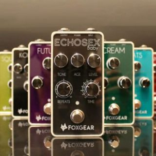 Foxgear Pedals – a new line by the designers of Gurus Amps and Baroni Lab
