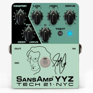 Tech 21 SansAmp YYZ (Geddy Lee signature)