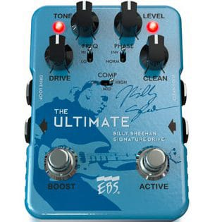 New at NAMM 2019: EBS The Ultimate v3 B. Sheehan Signature Overdrive