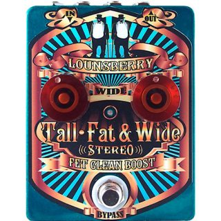 Lounsberry Tall Fat & Wide Stereo Boost and Drive