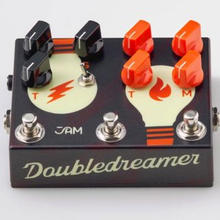 Jam Pedals Double Dreamer Overdrive now shipping