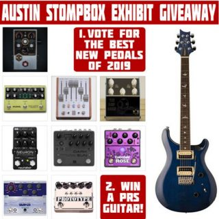 Best New Guitar Pedals of 2019 – Readers Poll + PRS Giveaway! [ended]