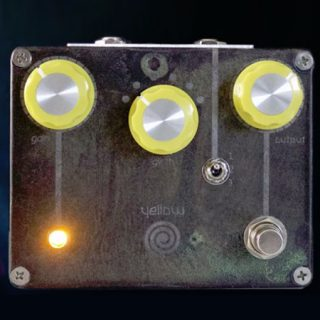Spiral Electric FX Yellow Spiral Overdrive