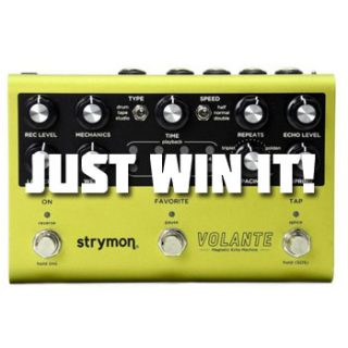 Win a Strymon Volante – through the Brooklyn Pedal & Synth Expo! – [ended]