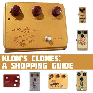 2021 UPDATE: The Best Klon Centaur Clones: Replicas and Evolutions