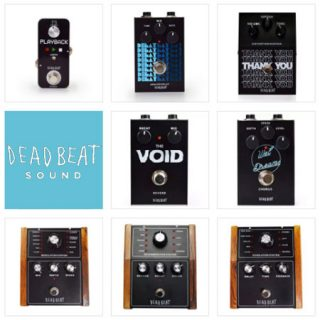 "Deadbeat Sound's ""Broke-tique"" Pedals at the BK Stompbox Exhibit"
