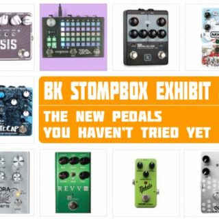 New Pedals you can try at the Brooklyn Stompbox Exhibit 2019