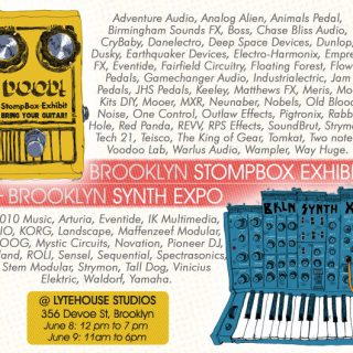 BK Stompbox Exhibit + Synth Expo 2019 [June 8-9]