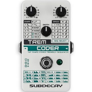 New Pedals: Subdecay Trem Coder Stereo Tremolo