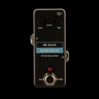 New Pedals: Mr. Black – Mini Echo-Delay