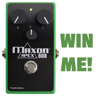 Win a Maxon APEX808 Overdrive! – Ended