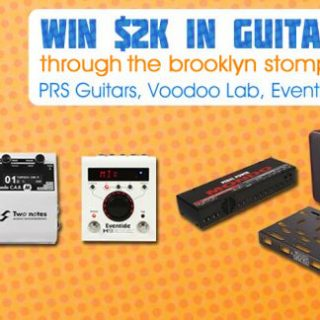 Brooklyn Stompbox Exhibit's OUTRAGEOUS Giveaway! [ended]