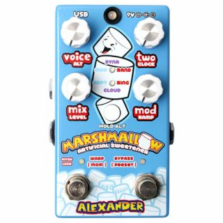 Alexander Pedals Marshmallow Artificial Sweetener (Dual Modulated Pitch Shifter)
