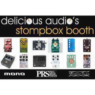 Summer NAMM Stompbox Booth this week at #1549!