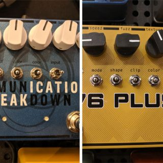SolidGoldFX introduces two new Fuzz prototypes: Communication Breakdown and 76 Plus