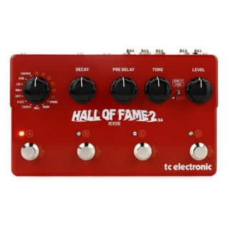 New Pedals: TC Electronic Hall of Fame 2X4 Reverb