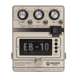 New Pedal: Walrus Audio EB-10 EQ/Boost