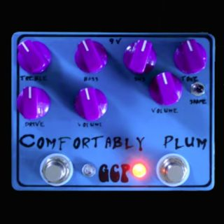 Green Carrot Pedals – Comfortably Plum Muff + Boost