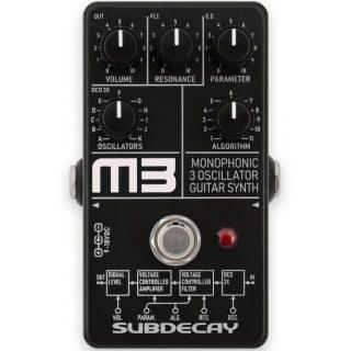 Subdecay M3 – 3 oscillator guitar synth pedal