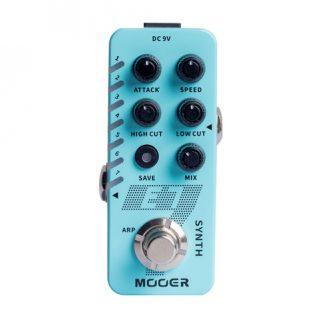 Mooer E7 Polyphonic Synth Micro Pedal Now Shipping