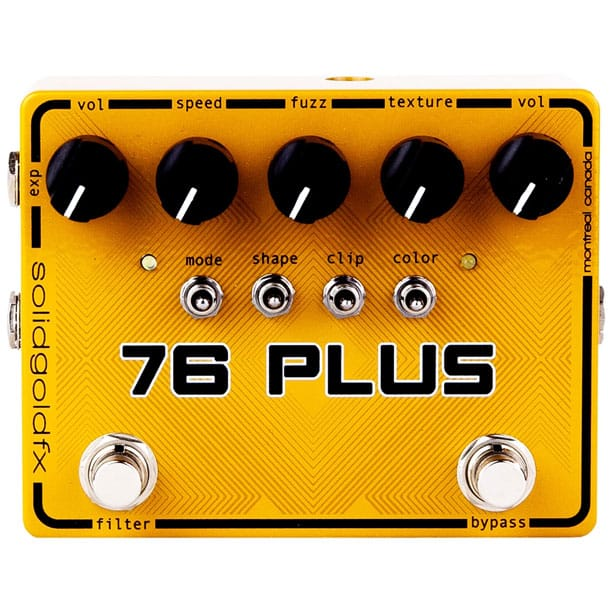 SolidGoldFX 76 Plus Octave Up Fuzz and Filter