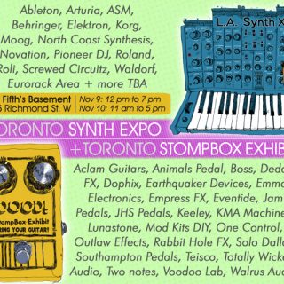 Toronto Pedal and Synth Expo 2019