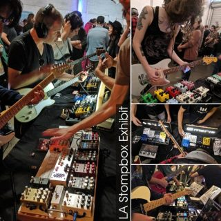 L.A. Stompbox Exhibit and Synth Expo 2019 Recap!