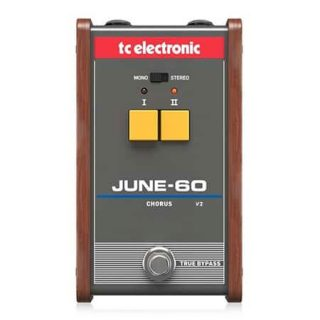New Pedals: TC Electronic June-60 V2 Stereo Chorus