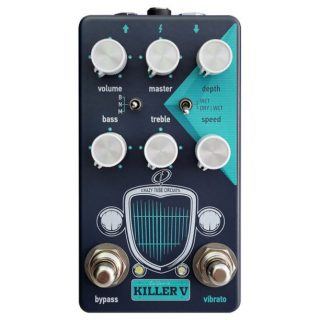 Crazy Tube Circuits Killer V – Vibrato + Drive