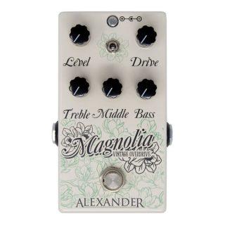 New Pedals: Alexander Pedals Magnolia Vintage Overdrive